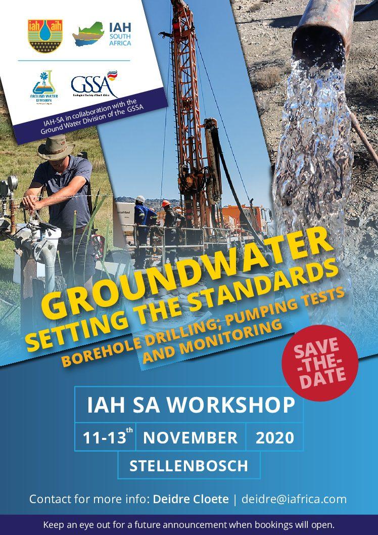 International Association of Hydrologists SA Workshop