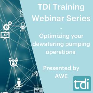 TDI Training Webinar Series -Optimizing your dewatering pumping operations