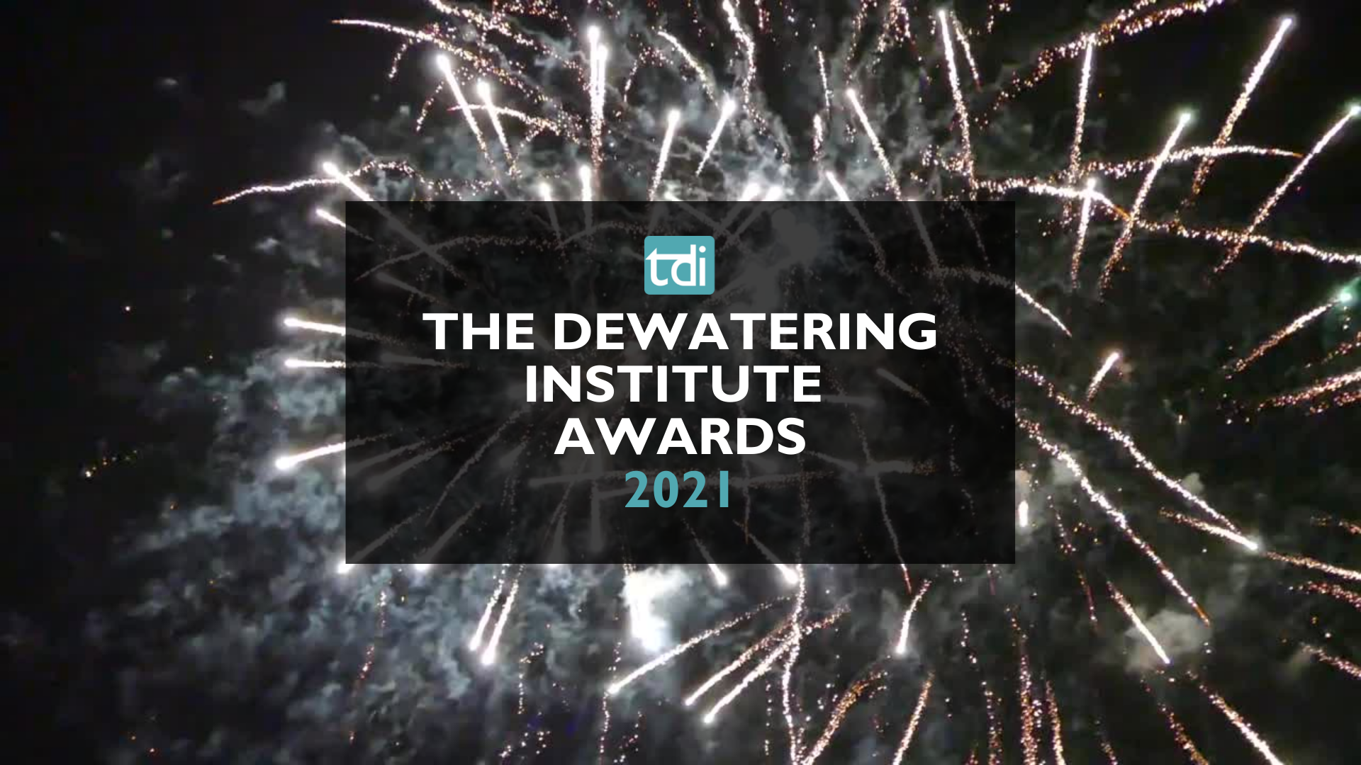 THE DEWATERING INSTITUTE AWARDS 2021
